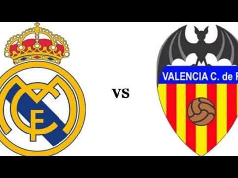 Real Madrid VS Valencia LIVE Match Today