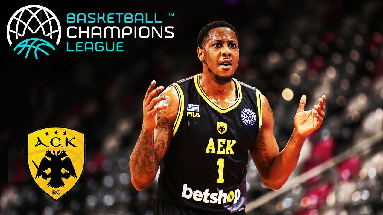 AEK's Top 10 Plays   Basketball Champions League 2019