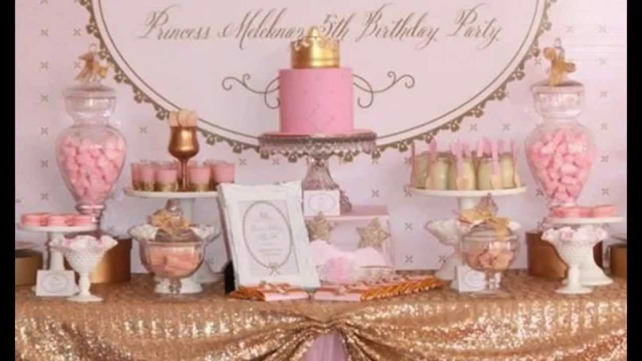 Cute Princess Tea Party Decorations Ideas