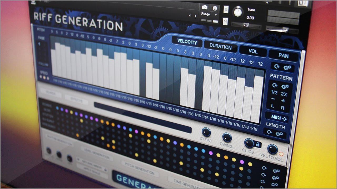 guitar riff generator vst