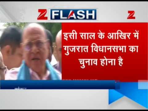 Will Gujarat's Senior Leader Shankersinh Vaghela quit Congress today?