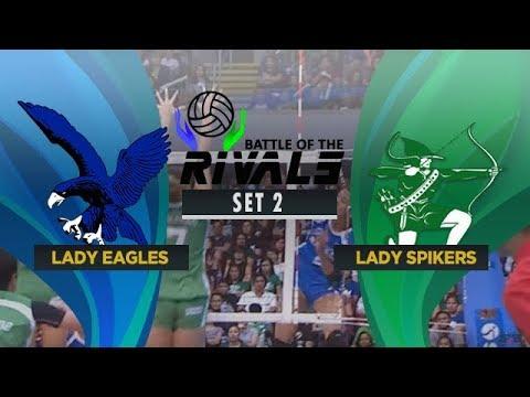 ADMU vs. DLSU | Full Game | 2nd Set | Battle of the Rivals