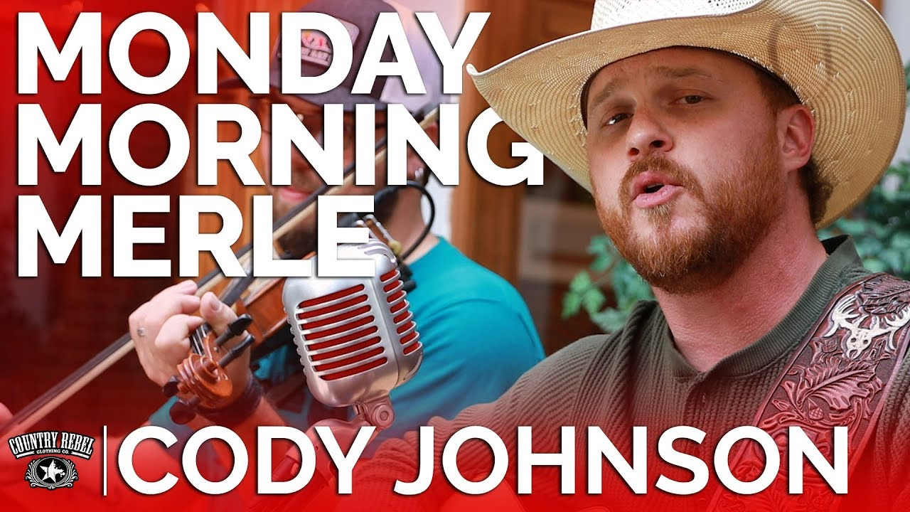 Cody Johnson — Monday Morning Merle (Acoustic) // Country Rebel HQ Session