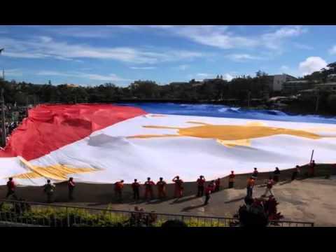Lupang Hinirang (bayang magiliw)