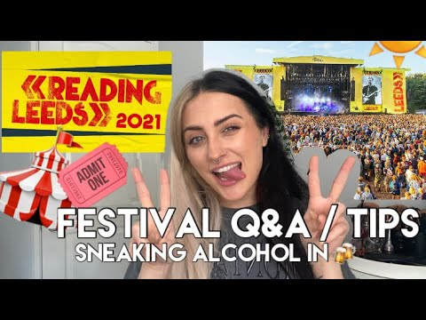 FESTIVAL Q&A / TIPS FOR LEEDS AND READING 2021 || CHARLIE SMARK