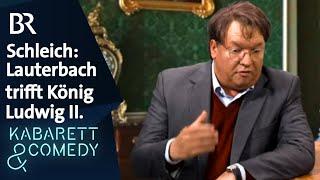 Schleich trifft Schleich – König Ludwig II. trifft Karl Lauterbach