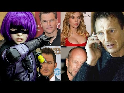 7 Most Unlikely Action Stars