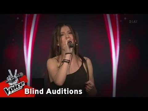 Μαρία Στεφάνου - Promises | 12o Blind Audition | The Voice o