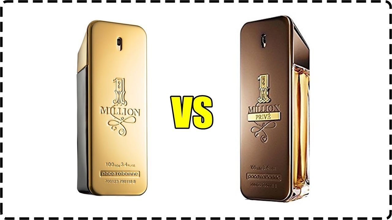 Paco Rabanne One Million Vs One Million Prive Paco Rabanne Männer