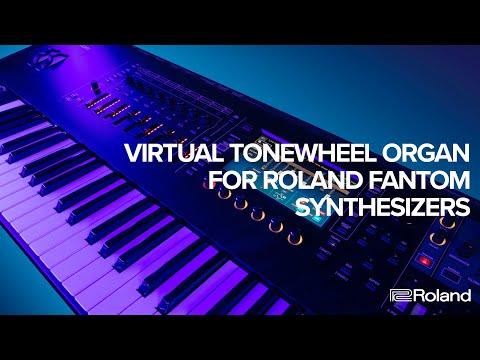 Virtual ToneWheel Organ for Roland FANTOM Synthesizers (FANTOM 6, FANTOM 7, FANTOM 8)