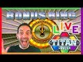 ☸ TITAN 360 Bonus + MORE Live Play! 😍 ✦ Slot Machine Pokies w Brian Christopher #AD