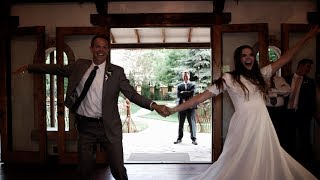 Video AWESOME Surprise Father Daughter Wedding Dance Mash Up | Kylie and Dave | Utah Wedding Videographer download MP3, 3GP, MP4, WEBM, AVI, FLV Agustus 2018