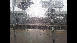 Zug Geräusche Innen mit Regen | White Noise | Weisses Rauschen | Entspannung