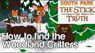 How to Find the Woodland Critters in South Park: The Stick of Truth and Add 12 Friends