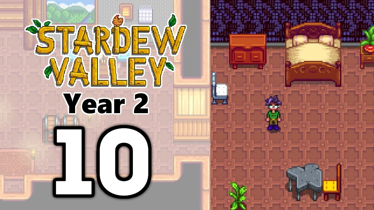 Stardew Valley Year 2 Ep10 Interior Decorating For Dummies
