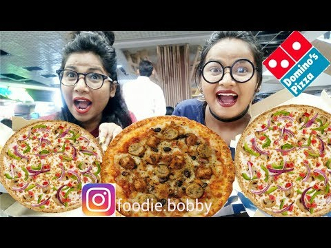 Domino's Pizza Challenge|| Eating Challenge India||episode-12 thumbnail