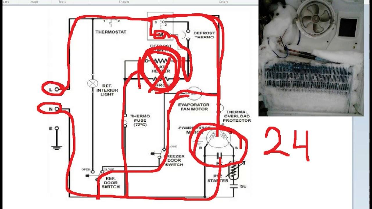 Wiring Diagram Kulkas Lg 2 Pintu