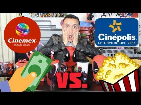 Combo Deadpool 2: Cinemex vs Cinepolis // Geezuz González