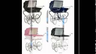 коляски для новорожденных видео