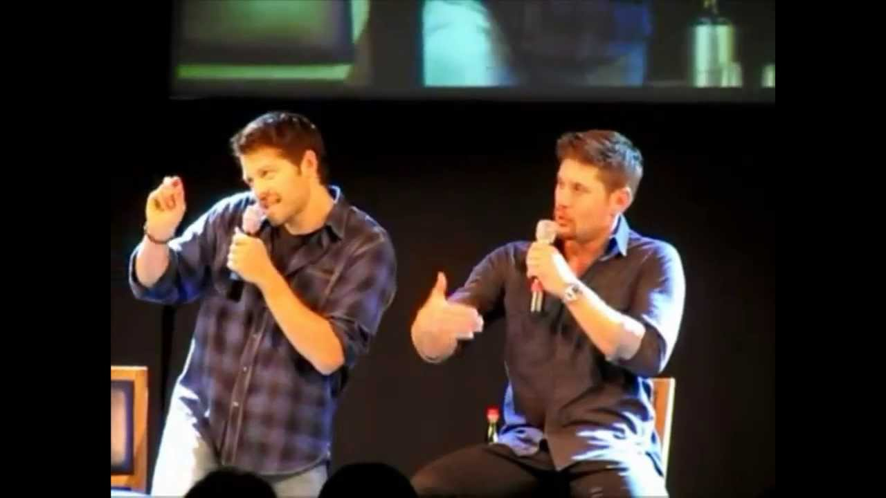 Supernatural Jus In Bello 2013 With Jensen Ackles And Misha Collins Full  Length!   YouTube