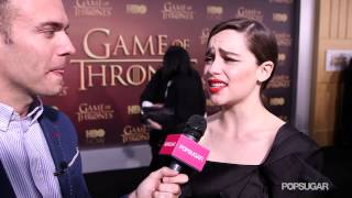 Emilia Clarke Wants to Have an Orgy on Game of Thrones?!