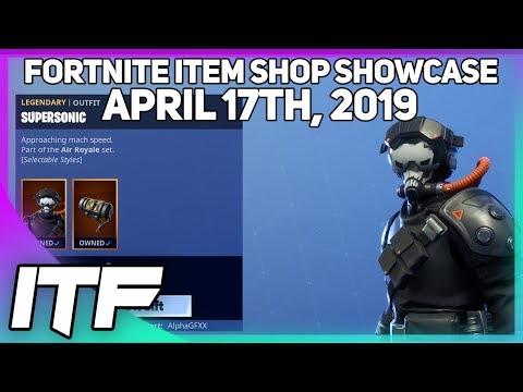 Fortnite Item Shop *NEW* AIR ROYALE SET! [April 17th, 2019] (Fortnite Battle Royale)