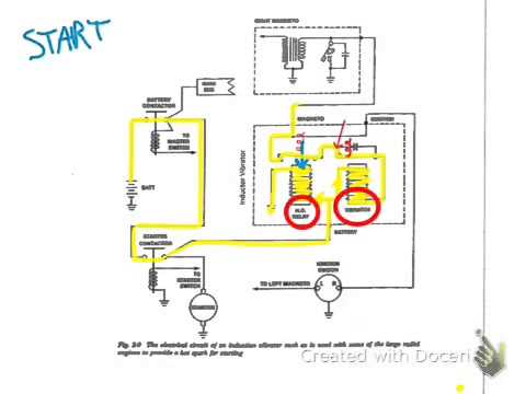 hqdefault magneto inductor vibrator circuit youtube bendix shower of sparks wiring diagram at alyssarenee.co