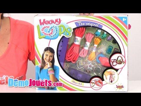 [JEU]  Weavy Loops Maxi Kit Splash Toys - Démo Jouets poster