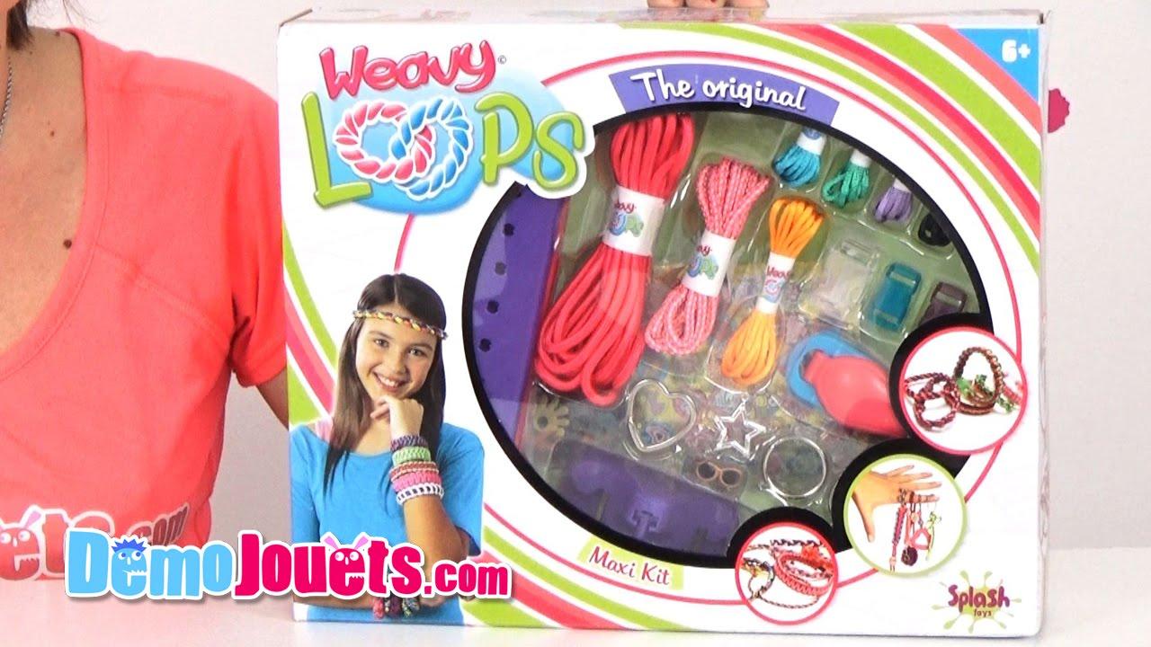 Démo Splash Toys Maxi Weavy La Famille Jouets Loops Kit n0k8XwPO
