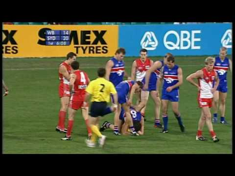 Footscray / Western Bulldogs 50 Greatest / Most Memorable Marks