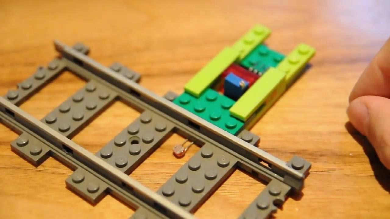 Arduino for lego trains light sensors youtube