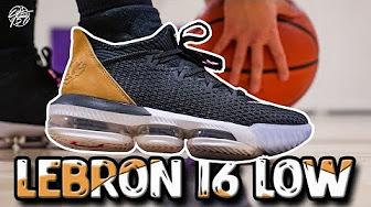 3692778e948 Lebron 16 - YouTube
