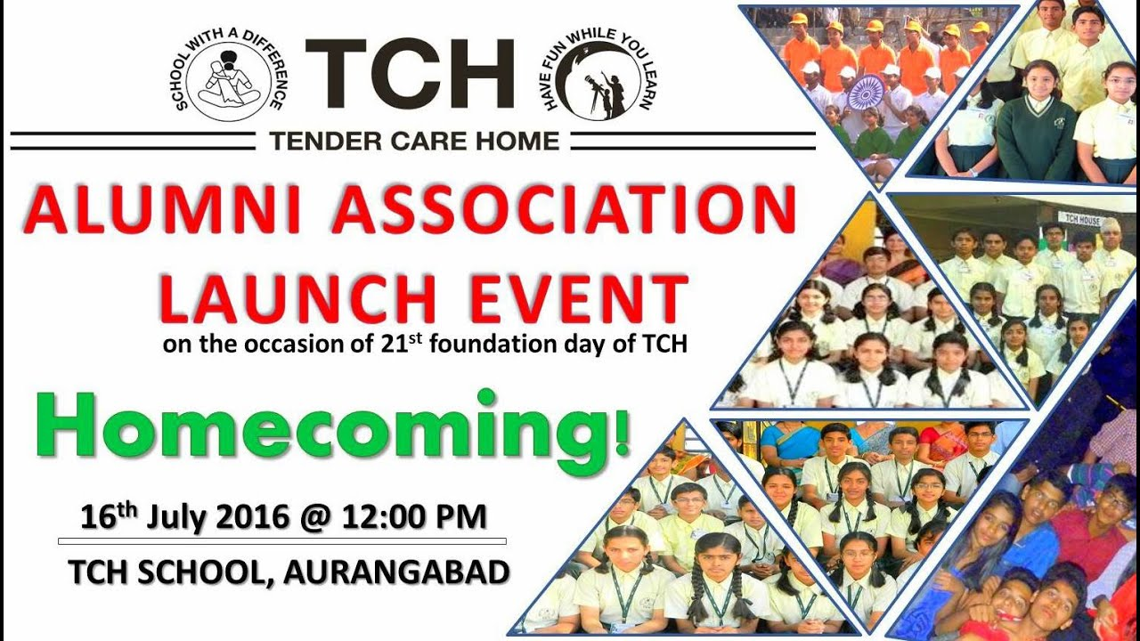 OFFICIAL TEASER AND INVITATION TCH Alumni Launch Event 16th July