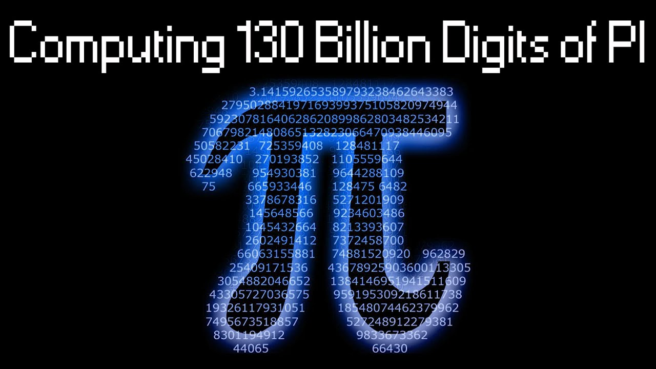 Computing Pi To  000 Decimal Digits With Y Cruncher