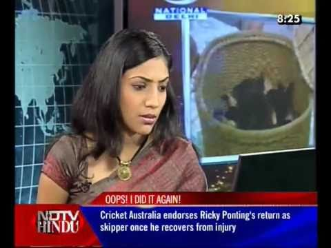 NDTV Hindu Bloopers! Happy New Year all :D