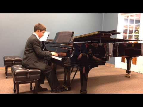 Autism's Gifts -Zachary's Fall 2014 Recital