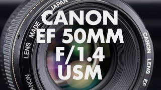 Lens Data - Canon EF 50mm f/1.4 USM Review