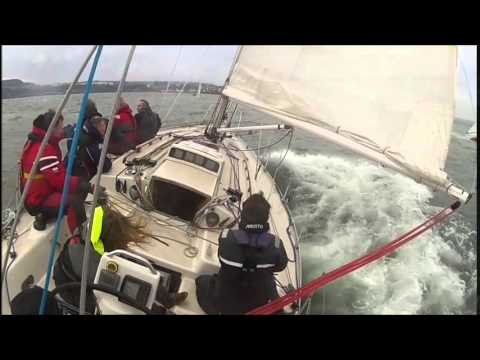 Scarborough Yacht Club's New Years Day race 2015 on Ruffian