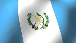 Flag of Guatemala - Bandera de Guatemala