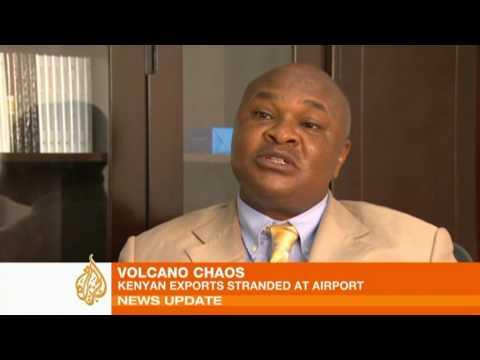 Kenyan exports stranded at airports