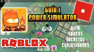 Power Simulator: Level Up Zones and Fly + Map, Will Roblox Guide Tutorial Spanish 1