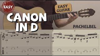 Canon in D / Pachelbel (Easy Guitar) 卡農 (吉他簡單版)