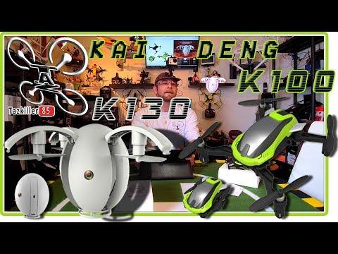 KAI DENG K130 & K100 Selfie Drones Test Démo / du ciel à la poche !!!