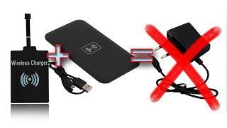 Беспроводная зарядка любого телефона! qi wireless charger