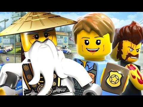 LEGO City Undercover Прохождение 2017 - Игра Мультики про Лего Полицию - Nintendo Switch