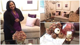 Decorate With me For Fall 2019/ Fall decorating Ideas/living room