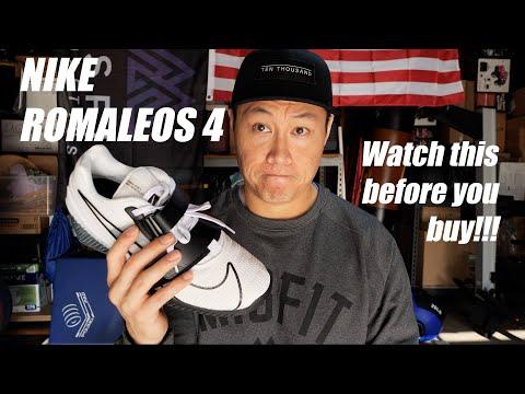 Nike ROMALEOS 4 First Impressions!