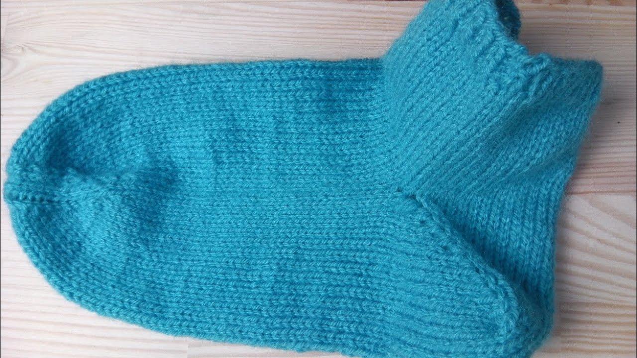 How to knit socks very easy woolpedia youtube bankloansurffo Gallery