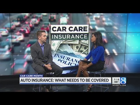 Auto insurance expert: What needs to be covered