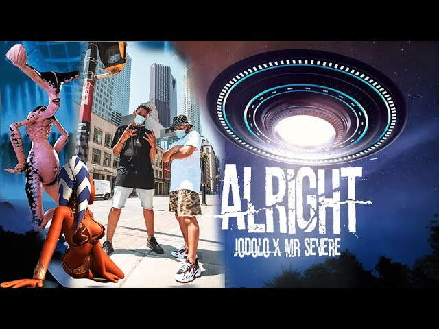 JoDolo x Mr. Severe - Alright (Official Lyrics Video)